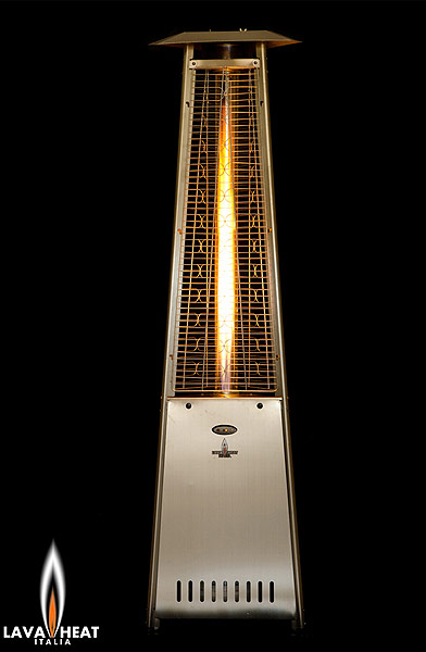 Lava Heat Italia Patio Heaters Diamond Fire Glass