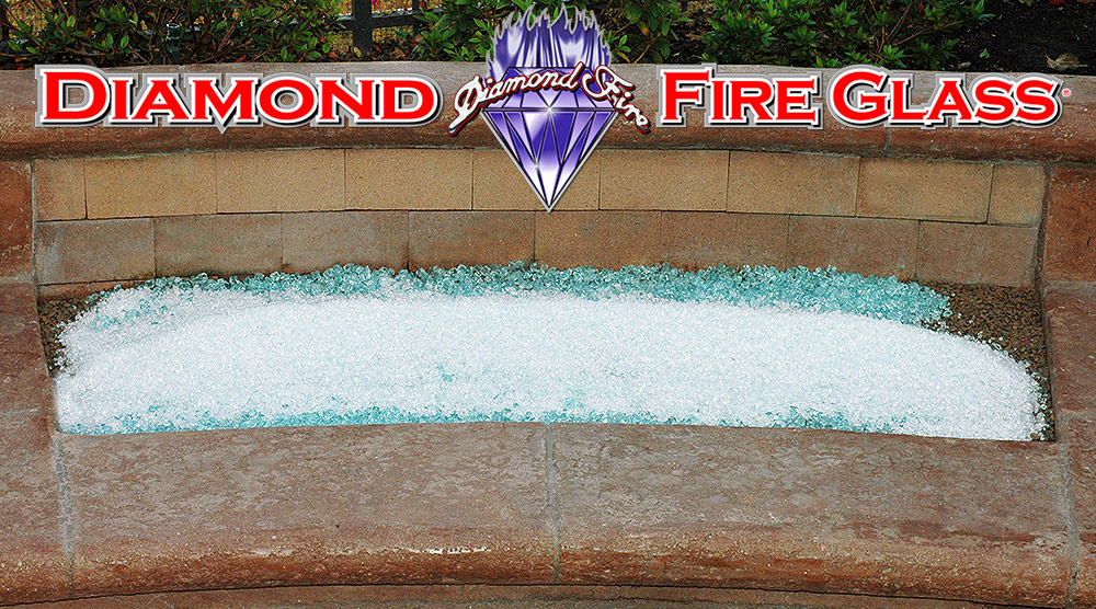 FIRE PIT INSTALLATION EXAMPLE 1: - Images Of Fire Pits And Fireplaces With Fire Glass By Diamond Fire Glass