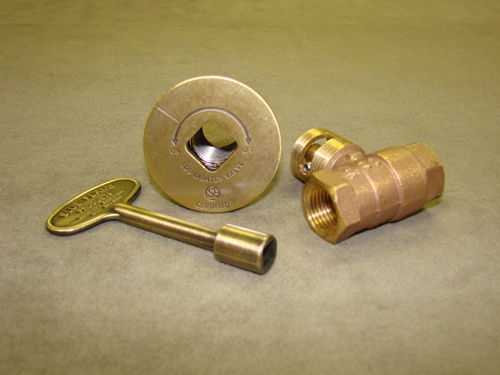 Manual Straight Antique Brass Ball Valve