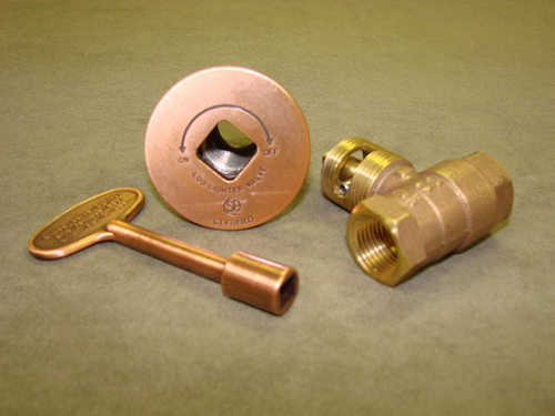 Manual Straight Antique Copper Ball Valve
