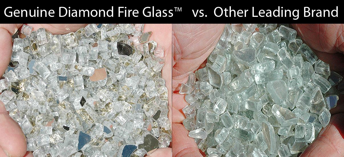 Platinum X Genuine Diamond Fire Glass vs Other Leading Brands
