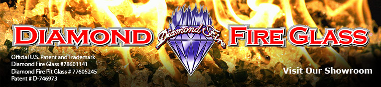 Diamond Fire Glass