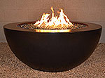 "Legacy Round Fire Pit Table 42"" D x 18"" H"