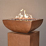 "Legacy Square Fire Bowl 30"" x 30"" x 12""H"