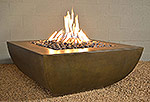 "Legacy Square Fire Pit Table 42"" x 42"" x 19""H"