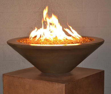 "Geo Round ""Essex"" Fire Bowl"