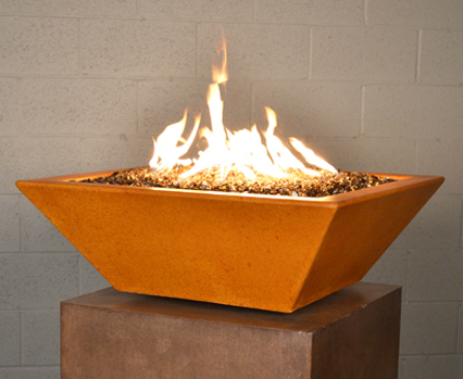 Geo Square Fire Bowl (Automated System)