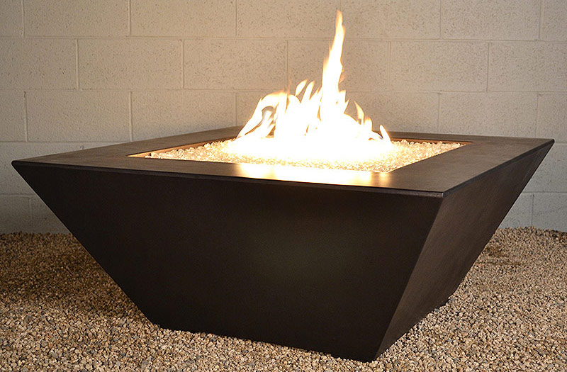Geo Square Fire Pit Table (Automated System)
