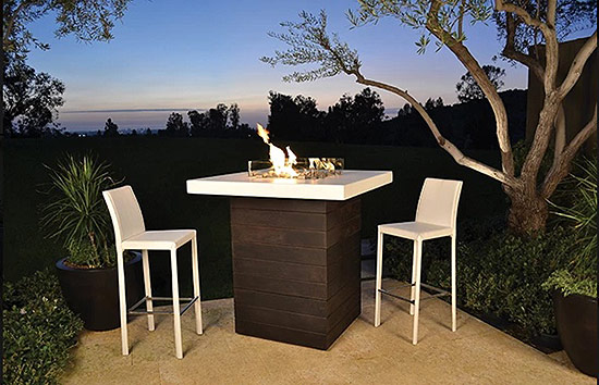 Happy Hour Fire Pit Table