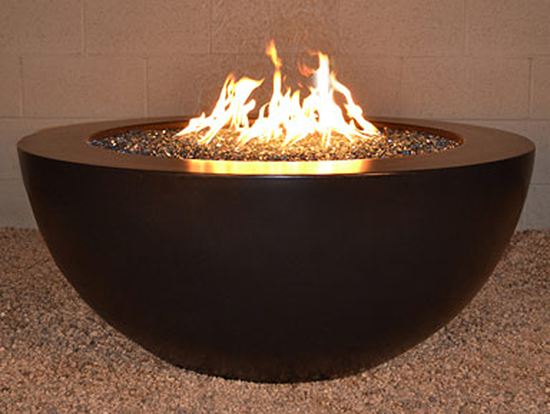 Legacy Round Fire Pit Table