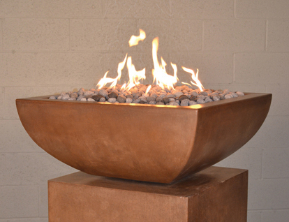 Legacy Square Fire Bowl (Automated System)