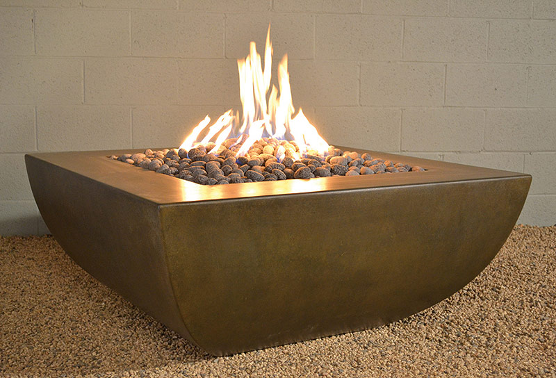 Legacy Square Fire Pit Table