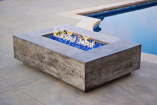 Diamond Fire Glass - Decorative Alternative to Fireplace Logs