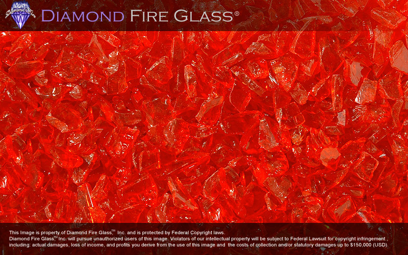 diamond and fire