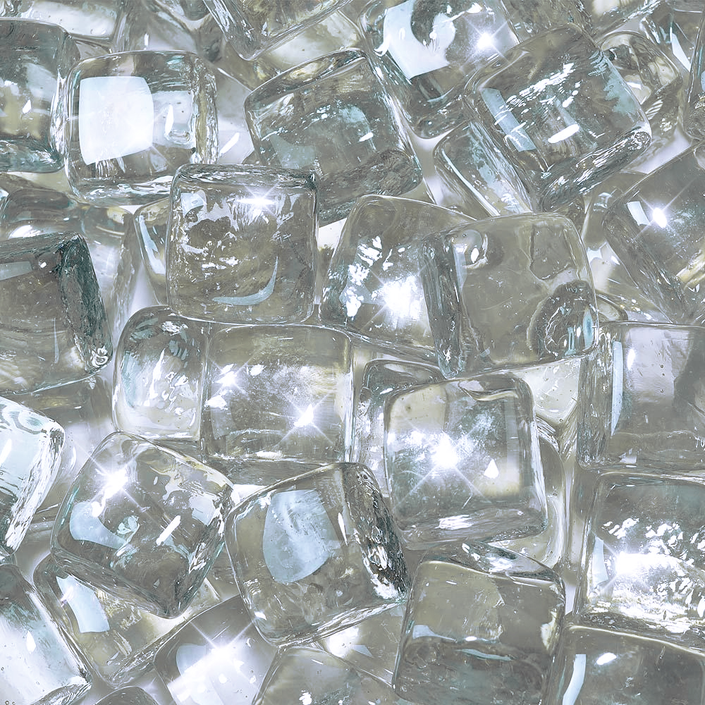 CLEAR GLASS CUBES