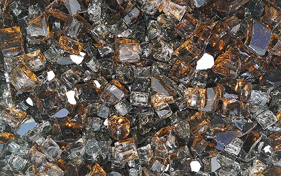 Copper Canyon Premixed Fireplace Glass Crystals