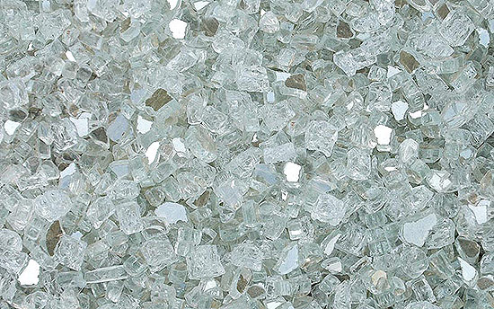 Crystal Cove Premixed Fireplace Glass Crystals
