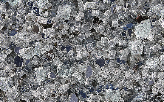 Denali Peak Premixed Fireplace Glass Crystals
