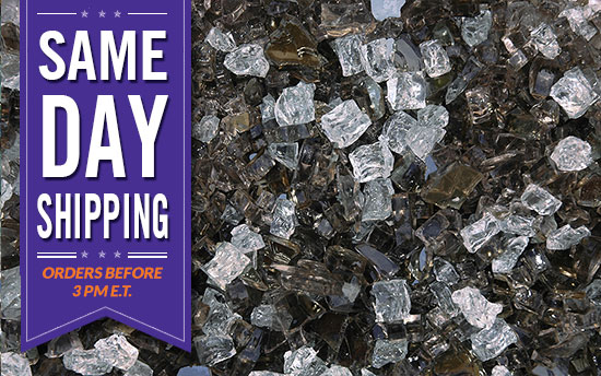 Legacy Premixed Fireplace Glass Crystals Fire Pit Glass Fireplace Glass