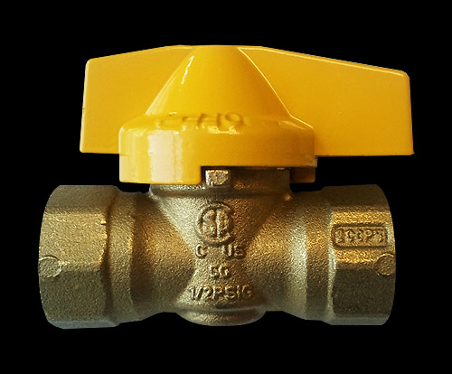 In-line Gas Ball Valve