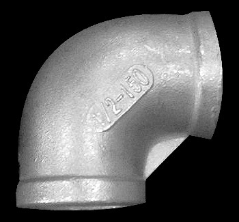 1/2 Inch Stainless Steel 90 degree elbow