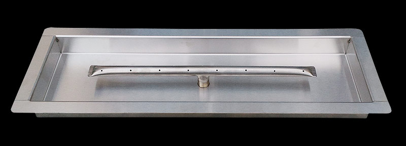 Stainless Steel Drop-In Pan Burners