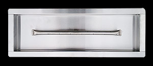 Pan Stainless Steel Fireplace Burner