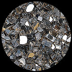 Bronze Reflective Diamond Fire Pit Glass