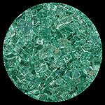 Forest Green 2000 Diamond Fire Pit Glass