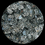 Gray Nugget Diamond Fire Pit Glass