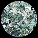 Illustrious Diamond Fire Pit Glass