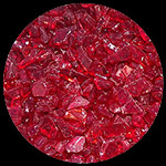 Red Diamond Fireplace Glass